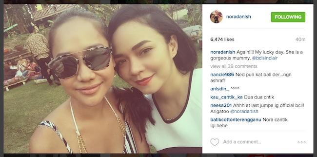 Nora Danish, Nedim Bercuti Bersama Di Bali? - ROTIKAYA_02