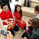 13- Sekitar Majlis Minum Teh Rai Perkahwinan Keith Foo, Isteri - ROTIKAYA