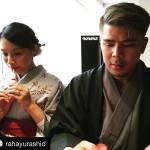 15- Gambar Percutian Awal Ashaari Dan Keluarga Ke Jepun - ROTIKAYA