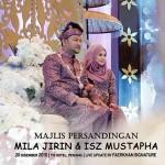 5- Di Sekitar Majlis Persandingan Mila Jirin Dan Suami - ROTIKAYA
