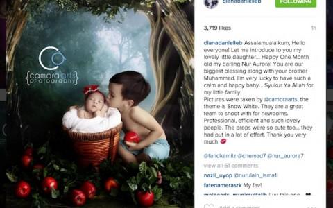 8-Diana-Danielle-Kongsi-Gambar-Nur-Aurora-Di-Instagram-ROTIKAYA