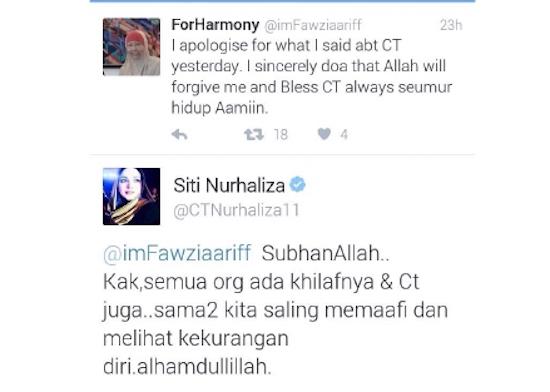 Dato' Siti Nurhaliza Maafkan Pengkritik - ROTIKAYA_in