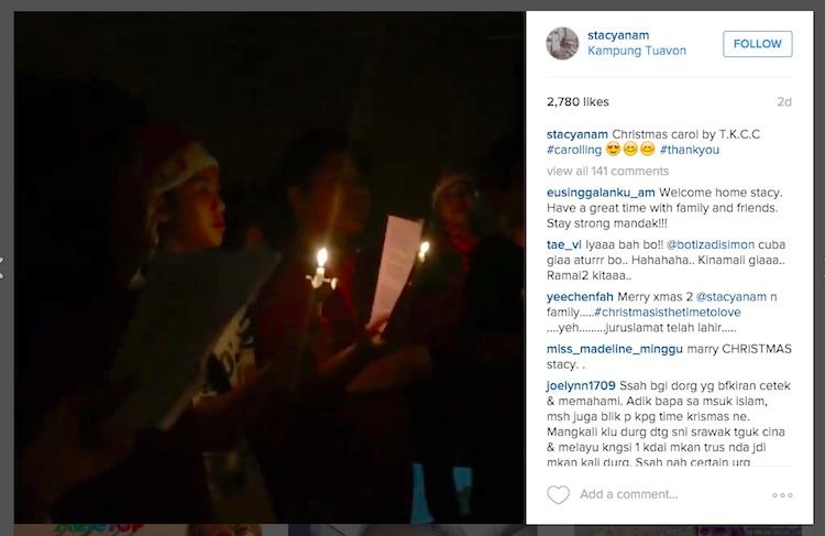 Peminat Kritk Stacy AF Sambut Krismas? - in